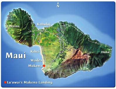 Hawaii Map Maui.Makena Maui Hawaii Vacation Rental Home Makena Maui Hawaii